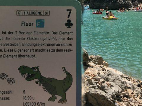Fluor-reaktivstes Element