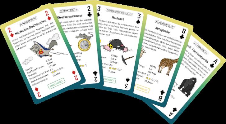Kartenfächer-Biologie-JAKLARO!
