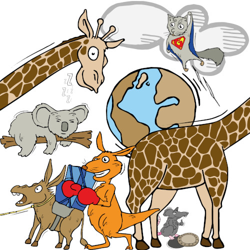 Biologie Illustrationen